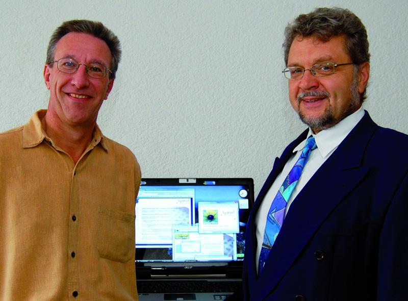 Thomas Hall und Dr. Rainer Pflaum