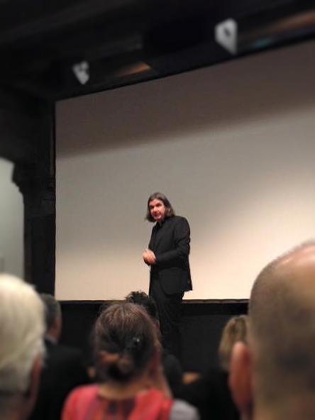 Hermann Scherer beim Unternehmerfruhstück Konstanz
