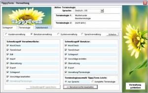 TippyTerm-Version 1.6.1 Schnellzugriff